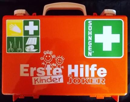 Erste-Hilfe-Koffer - KINDER