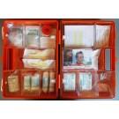 Erste-Hilfe-Koffer Größe 2 orange Typ 1 - lange Haltbarkeit der Sterilteile