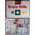 Erste-Hilfe-Koffer Größe 3, weiss, Typ 2, lange Haltbarkeit