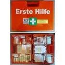 Erste-Hilfe-Koffer Größe 3, orange, Typ 2