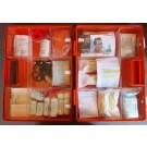 Erste-Hilfe-Koffer Gr. 3 orange Typ 1 - Sterilteile lange Haltbarkeit