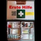 Erste-Hilfe-Koffer Größe 1 weiß Typ 1